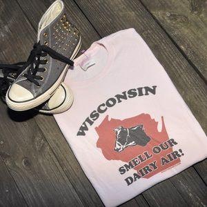 Vintage Wisconsin Tee